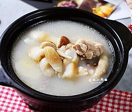 令孩子长大个的汤~姬松茸鸡腿汤的做法