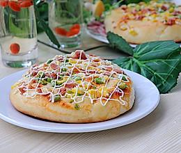 【美的绅士烤箱】玉米火腿沙拉包的做法