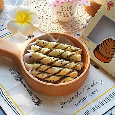 莲子红豆扭扭酥