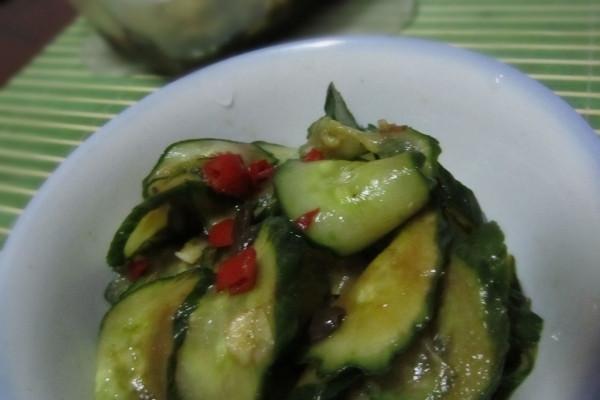 素腌酸甜黄瓜的做法
