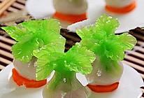 饺子还可以这样吃【水晶白菜蒸饺】的做法