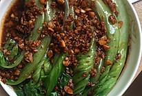 油淋蒜香生菜的做法