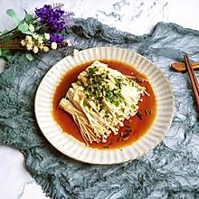 #花10分钟,做一道菜!#凉拌金针菇