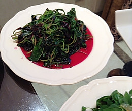 水煮苋菜的做法