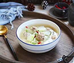 #秋天怎么吃#羊肉丸子冬瓜汤的做法