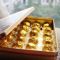 【趴体小零食】杏仁脆片巧克力球~~自制费列罗的做法图解1