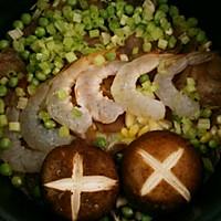 海鲜腊味焖饭#美的初心电饭煲#的做法图解5