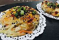 玩儿出一个新花样,鸟巢土豆丝煎蛋饼的做法
