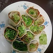 百叶卷生菜(辣酱版)