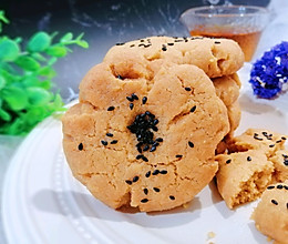 #糖小朵甜蜜控糖秘籍#零失败 厨房小白也能学会的酥掉渣的桃酥的做法