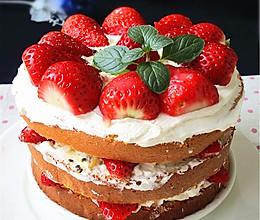 鲜果裸蛋糕的做法