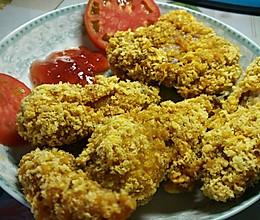 炸鸡腿  炸鸡翅  快餐 KFC的做法