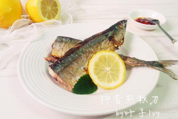 柠香煎秋刀鱼~一人食的做法
