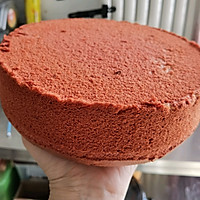 红丝绒蛋糕~圣诞夜的做法图解9