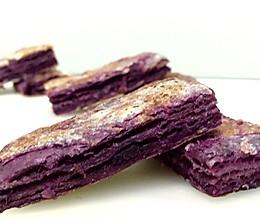 紫薯千层饼 —— 素食·一人食的做法