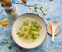 香椿苗豆干汤,减肥快手汤的做法