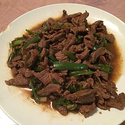 小炒牛肉 青椒牛肉