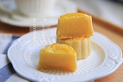 让人欲罢不能的芝士奶黄月饼,绝对秒杀半岛酒店奶黄月饼!