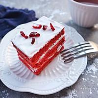 红丝绒蛋糕#我的莓好食光#的做法图解18