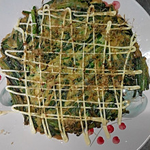 日本料理之韭菜鸡蛋煎饼