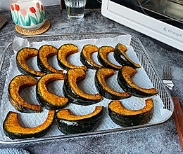 低脂日式烤南瓜的做法