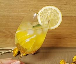 #餐桌上的春日限定#柠香苏打特饮-一秒撑开遮阳伞的做法
