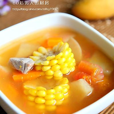 田园蔬菜养生汤