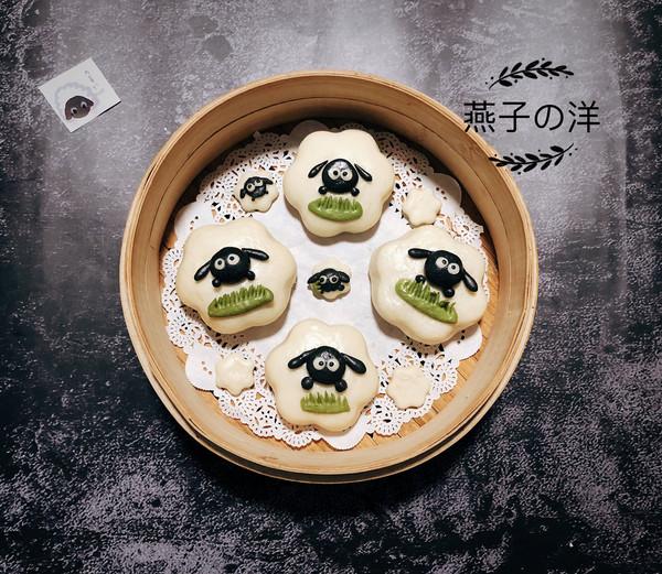 #硬核菜谱制作人#【奶香包】小羊肖恩的做法