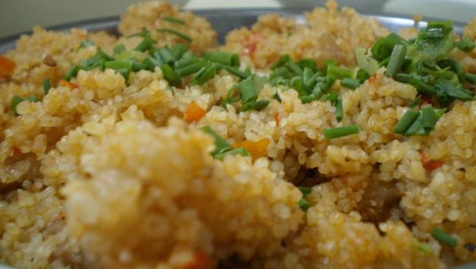 煮妇的随意小菜:别样粉蒸肉