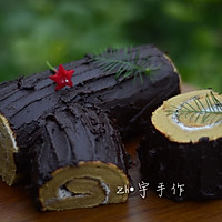 树桩蛋糕#每道菜都是一台食光机#
