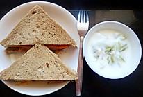 三明治(元气早午餐)的做法