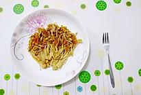 蒜香烤金针菇的做法