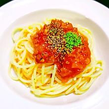 (完胜必胜客的)番茄肉酱意面