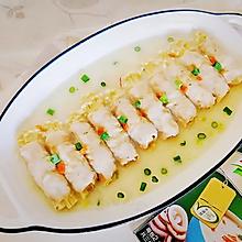 金针菇海鲜汤肉卷