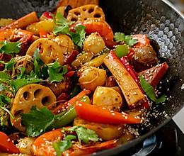 #一道菜表白豆果美食#酱香香锅|咸鲜浓郁的做法