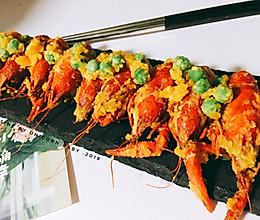 #最爱盒马小龙虾#咸蛋黄小龙虾的做法