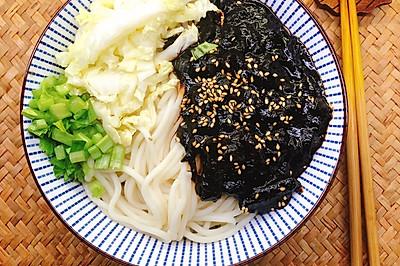 韩国炸酱面(春酱面)