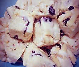 蔓越莓牛轧糖沙琪玛的做法