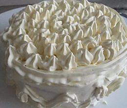 六寸奶油蛋糕的做法