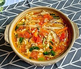 #中秋团圆食味#巨开胃番茄酸辣汤的做法