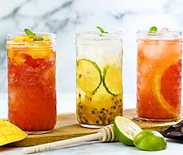 夏日蜂蜜水果冷泡茶的做法