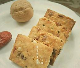 #自己做最健康#【燕麦坚果饼干】的做法