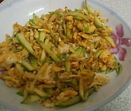 嫩南瓜炒蛋的做法