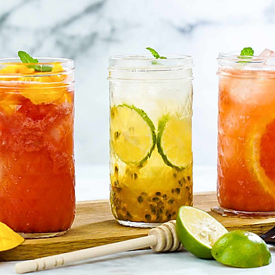 夏日蜂蜜水果冷泡茶