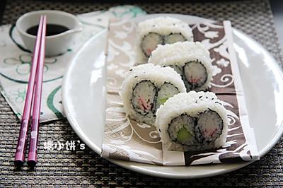 【双拼里卷寿司】