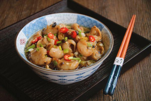 豆豉蒸肥肠的做法