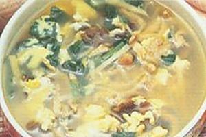 木耳肉丝蛋汤的做法