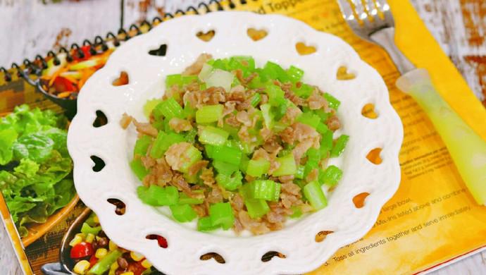 羊肉芹菜丁✧宝宝营养菜