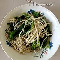 润肠排毒的凉拌金针菠菜的做法图解6
