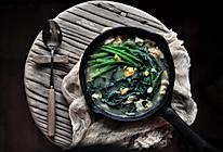 双蛋菠菜煲#中式减脂餐#的做法